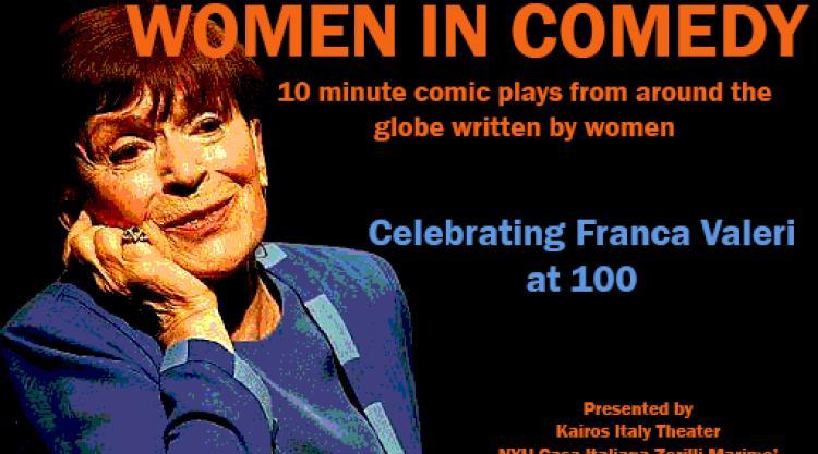 women in comedy image