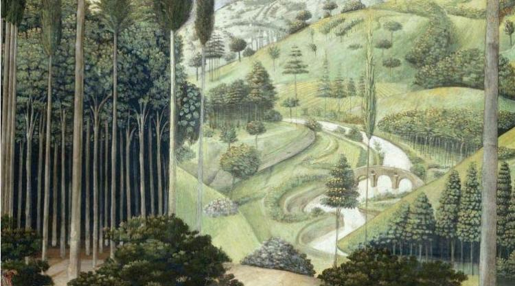 detail from Benozzo Gozzoli