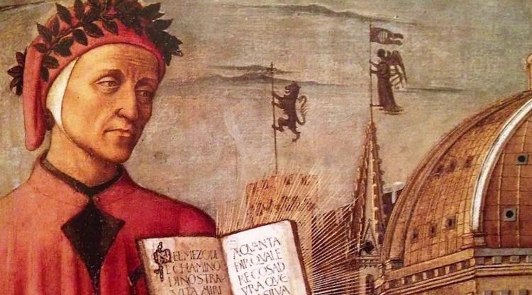 painting of Dante