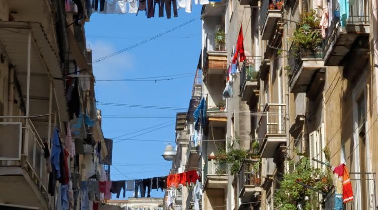 photo of Neapolitan street