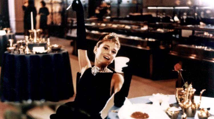 detail from Breakfast at Tiffany's