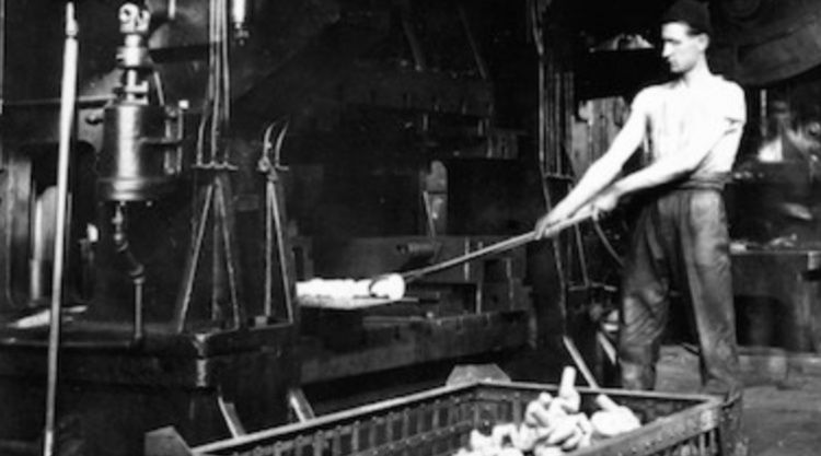 Image of factory worker
