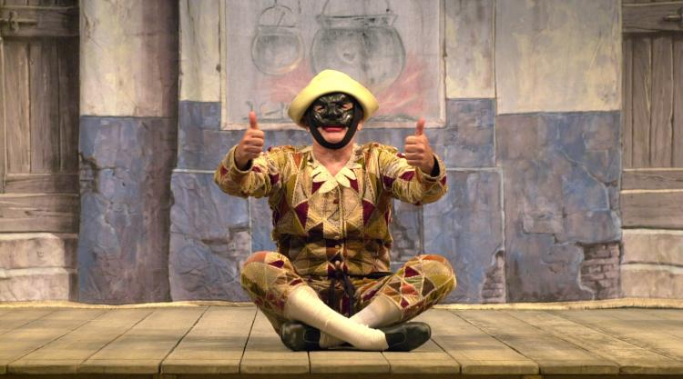 photo of Ferruccio Soleri as Arlecchino