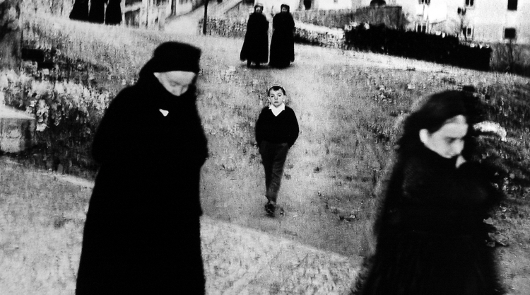 """Detail from Giacomelli """"Scanno"""""""