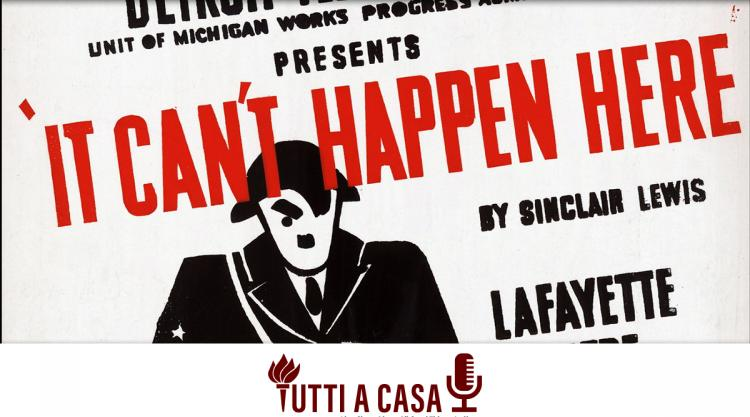 It Can't Happen Here poster