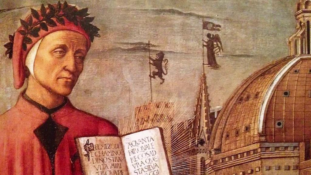 painting of Dante