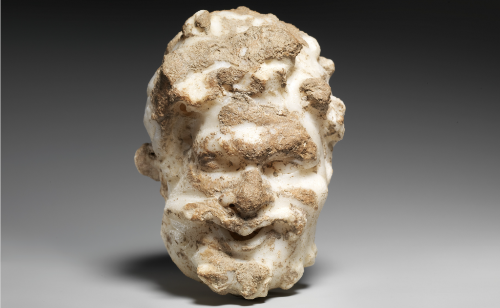 photo of Satyr statue