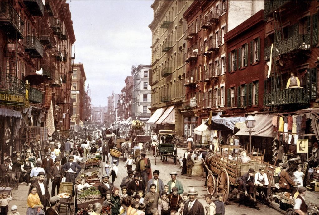 Historic photograph of Little Italy
