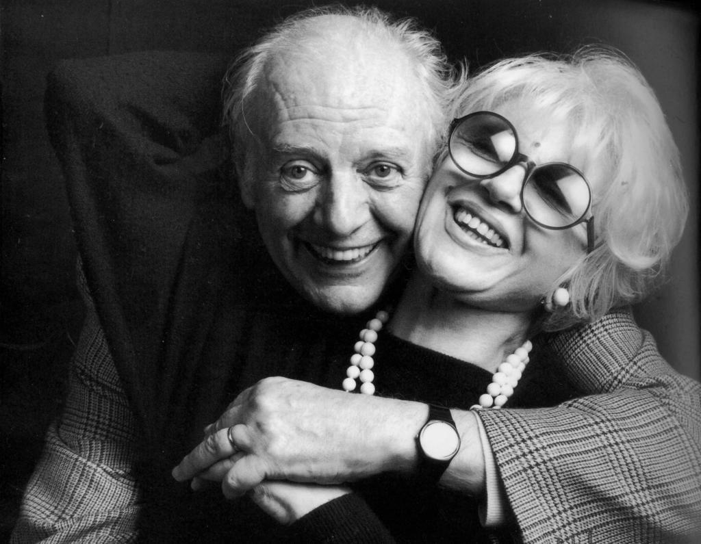 photo of Dario Fo and Franca Rame