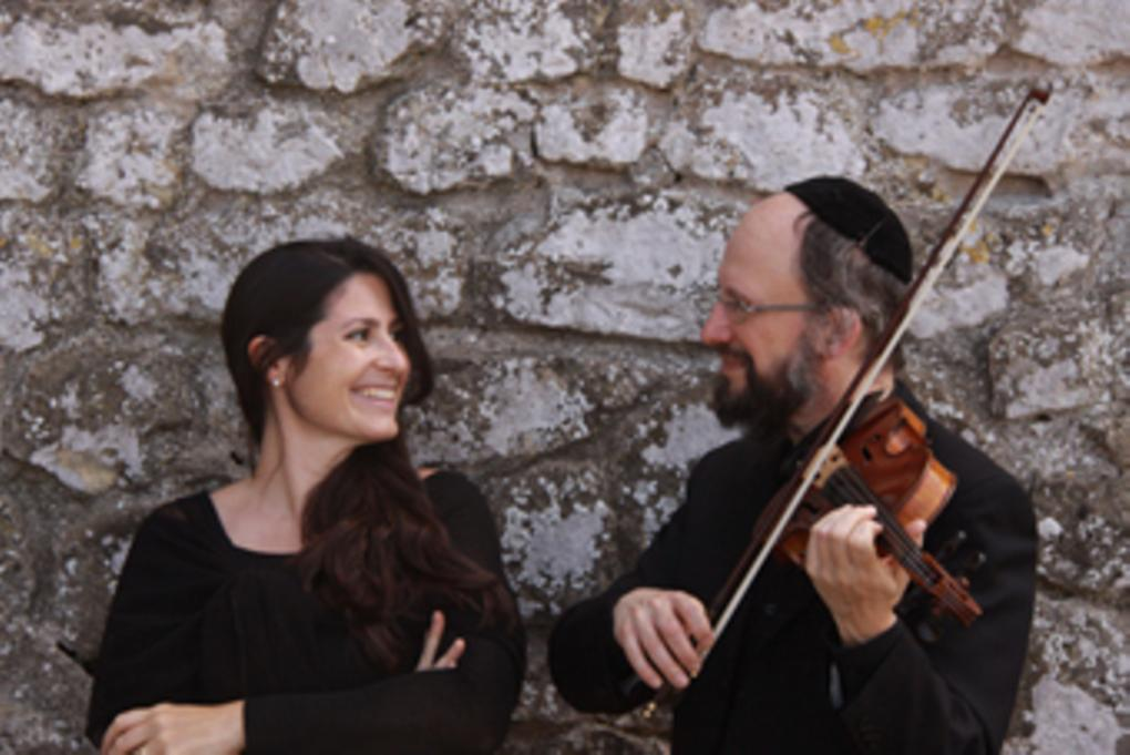 photo of Delilah Gutman and Refael Negri