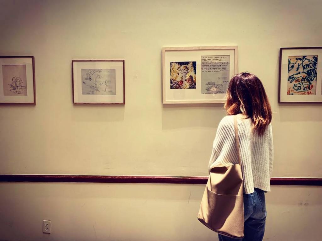 Carlo Levi works on view at Casa Italiana