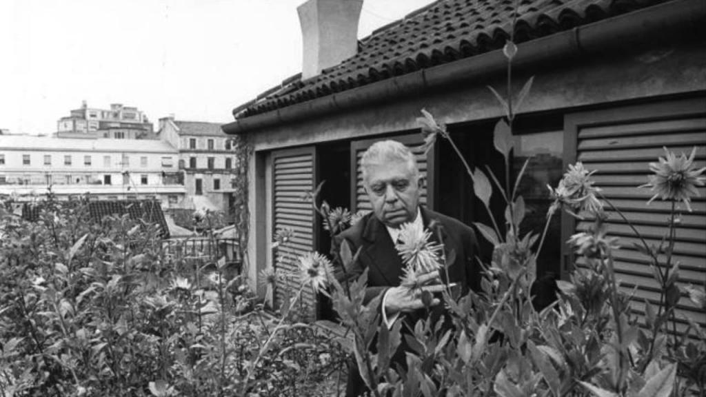 photograph of Eugenio Montale