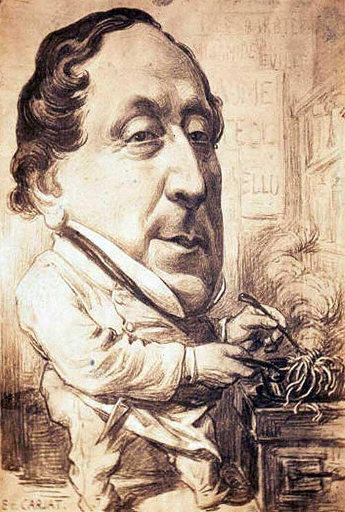 Rossini caricature