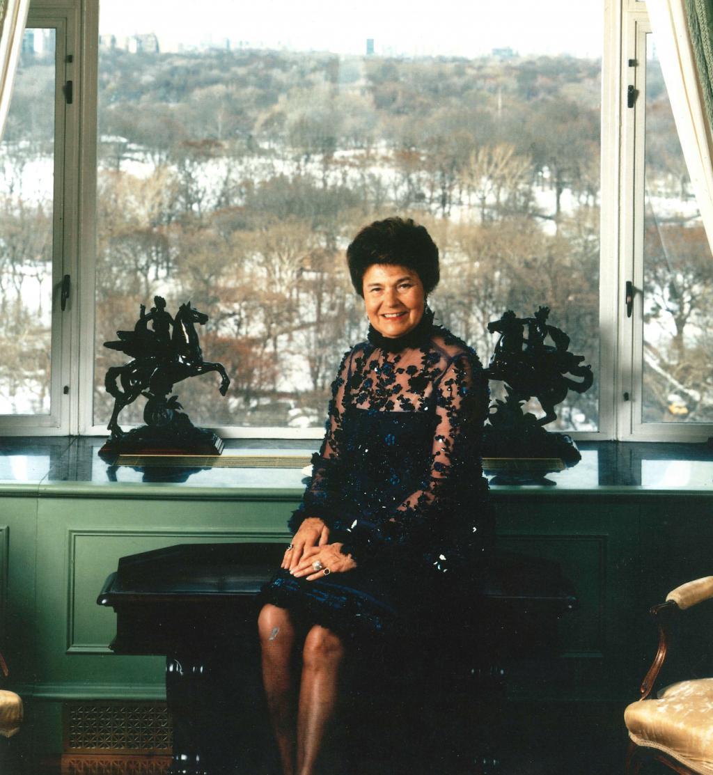 portrait of Baroness Zerilli