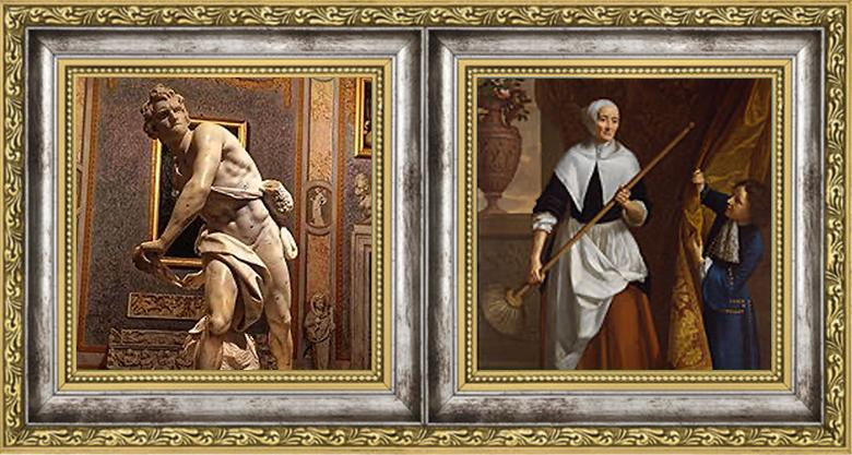 GianLorenzo Bernini David 1623–24/John Riley Portrait of Bridget Holmesby 1686
