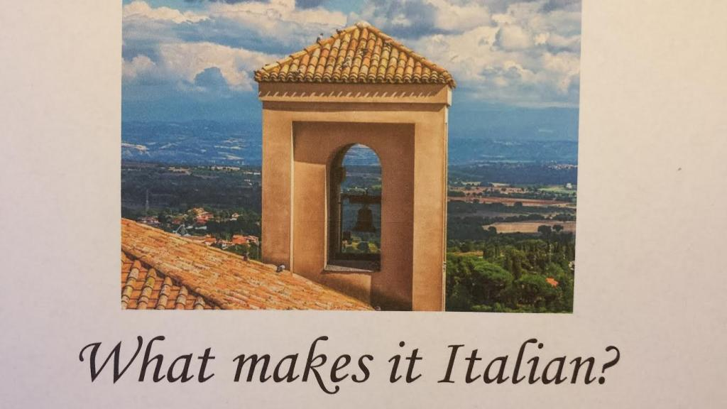 What Makes It Italian image